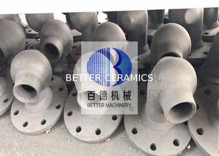 High Strength Silicon Carbide Nozzle / FGD Nozzles ISO 9001 Approved
